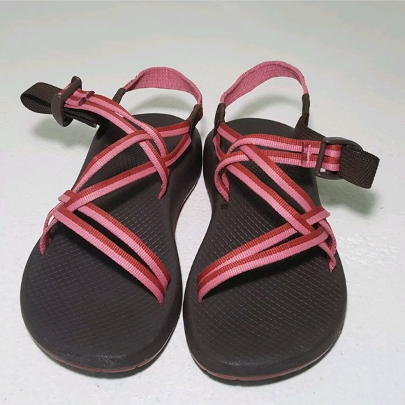 ad6f20efa141 Chaco Shoes - chacos womens size 8 brown pink